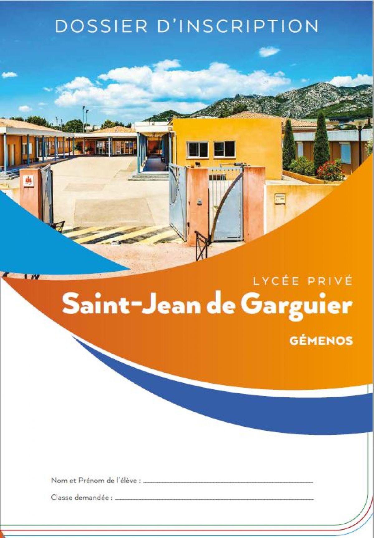 photo Lycée St-Jean-de-Garguier - Inscriptions rentrée 2019